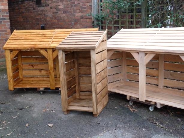 woodworking plans log storage