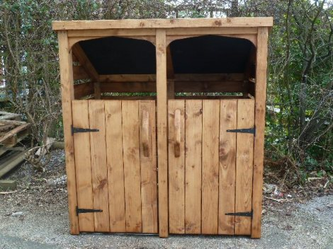 woodstores.co.uk wheelie bin store